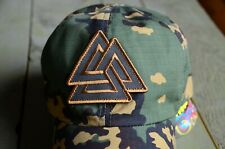 Russian Ball Cap, Baseball Cap Camo Partizan SS,  FSB Valknut symbol
