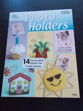 Photo Holders Plastic Canvas Leaflet American School of Needlework #3220