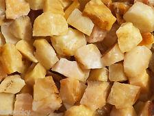 1/2 lb YELLOW AVENTURINE Bulk Tumbling Rough Rock Stones Healing Crystals FS