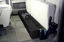 DU-HA 20071 Black Under Rear Seat Storage For Ford F150 Super Cab NO SUB 2009-14