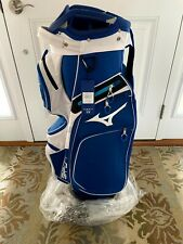 NEW 2021 MIZUNO BR-D4C CART GOLF BAG - BLUE & WHITE