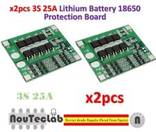 2pcs 3S 25A Li-ion 18650 BMS PCM Battery Protection Board with Balance BMS PCM
