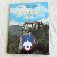 More details for slovenia 2004 8 coin euro prototype essai proof pattern set - sealed pack