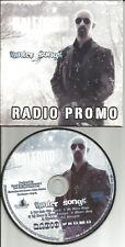 Judas Priest ROB HALFORD Winter Songs RARE 5TRX Sampler PROMO DJ CD USA 2009