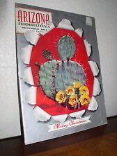"Arizona Highways:""Prickly Pear in Bloom""-December 1959-Vol. XXXV No.12-Mag"
