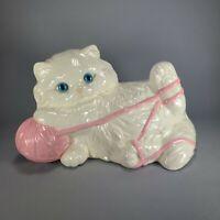 Vintage Ceramic Cat Hobbyist As Is