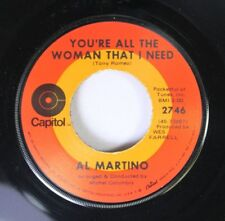 Pop 45 Al Martino - You'Re All The Woman That I Need / Can'T Help Falling In L 4