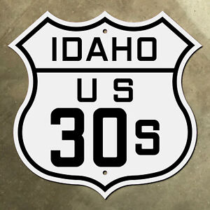 Idaho US route 30S highway marker road sign shield