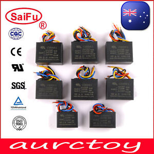 SaiFu CBB61 AC 250V 50/60Hz Capacitor for Ceiling Fan AU seller