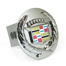 Cadillac Classic Logo Chrome Logo Tow Hitch Cover Plug