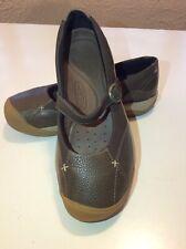 KEEN PRESIDIO MJ US 7.5 EU 38 Woman's Mary Jane Shoe Brown NWOB