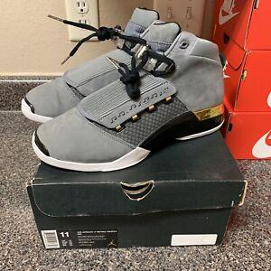 Rare Air Jordan 17 Retro x Trophy Room Size 11 AH7963-023 100% Authentic