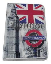 NUOVO Londra VIAGGIO PASSAPORTO Portacarte Cover ad astuccio di design stampa