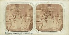 Vue stéréos panoptique : Mariage sous Louis XV , Toilette de la mariée