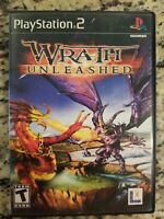 Wrath Unleashed SONY PS2 Playstation 2 COMPLETE Case Manual TESTED FREE S/H