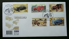 Malta Vintage Cars 2003 Classic Transport Vehicle (stamp FDC)