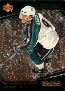 2000-01 Black Diamond Hockey Base Singles (Pick Your Cards)