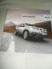 Nissan X Trail range brochure Aug 2010