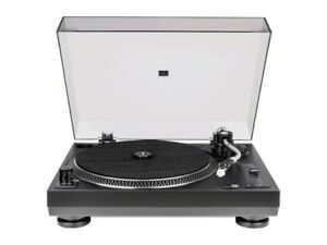 Dual DT 250 USB DJ Turntable Record Player 33/45 rpm Pitch Control Magnetic Pup
