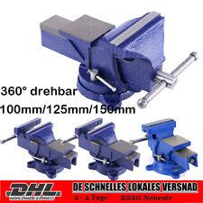 360° drehbar Parallel Schraubstock mit Amboss 100/125/150mm Werkbank D-STORE