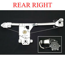 RH RIGHT REAR DOOR WINDOW REGULATOR WITH MOTOR FOR HOLDEN RODEO 03-11 ISUZU DMAX