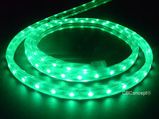 CBConcept® UL Listed,80 Feet,8500 Lumen,Green,120 Volt Flat LED Strip Rope Light