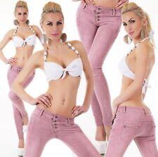 M Damen-Jeans mit geradem Bein aus Denim