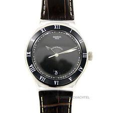Swatch Uhr Irony Automatic DOLCE SERA  YAS412  Leder Braun NEU