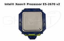 Intel® Xeon® Prozessor E5-2670 v2 CPU 2,50 GHz Sockel FCLGA2011 mit Einbaurahmen