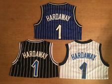 Penny Hardaway 1 Men's Orlando Magic Throwback White/Blue/Black Stitched Jersey