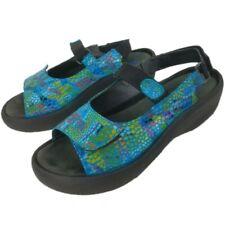 Wolky Womens Jewel 3204 Multi Color Comfort Sandals EU Size 41 US Size 9