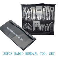 38x Car Radio Removal Tool Set Stereo Unidad Principal de herramientas de audio