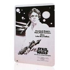 "Tin Sign ""Star Wars"" Classic Poster Movie Luke Skywalker Retro Vintage Wall Art"