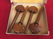 4 Wirbel für 4/4 Cello - Palisander, Herzform - Gebr. Lorenz No. 300/s, schwach