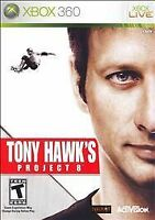 Tony Hawk's Project 8 Xbox 360 Game Complete For T-Kids Skateboarding