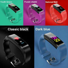 Smart Watch Blood Pressure Monitor Fit Bit Style Fitness tracker Bluetooth IP67