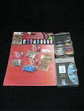 Lot of Cala and Xtreme Nail Designer Nail Tips + Crystal Illusions Charms by PNI
