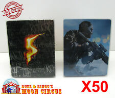 50x SONY PS3 CIB GAME BLU-RAY STEELBOOK G2 - CLEAR PROTECTIVE BOX PROTECTOR CASE