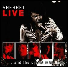 SHERBET - LIVE .. AND THE CROWD WENT WILD CD ~ HOWZAT~SLIPSTREAM ++ 70's *NEW*