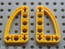 LEGO Yellow liftarms beams 32250 / sets 8451 8419 8271 8047 8238 8455 8069 8539