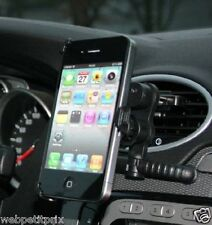 SUPPORT DE FIXATION POUR GRILLE AERATION VOITURE - IPHONE 5/ 5S - NEUF