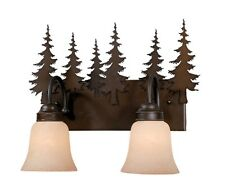 Yosemite Tree Burnished Bronze Sconce Wall Lamp Vaxcel Bath Lighting VL55502BBZ
