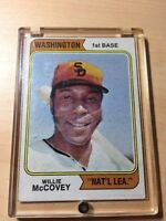 Willie McCovey #250 1974 Baseball Card (Giants) In Case Ungraded
