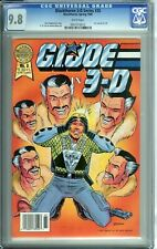 BLACKTHORNE 3-D SERIES 35 CGC 9.8 WHITE PAGES G.I. JOE IN 3-D issue #3 1988