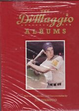 CLASSIC BASEBALL BOOK- DIMAGGIO ALBUMS- 2 VOLUME SET- SEALED