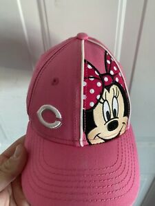 cincinnati red minnie mouse hat new era toddler hat pink Disney Cap Kids