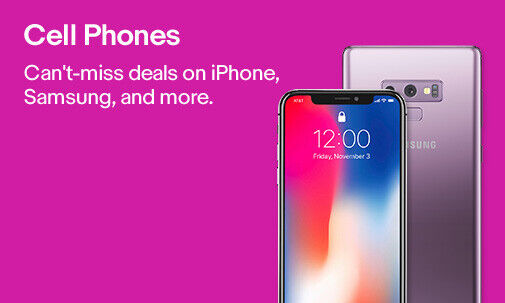 Cell Phones | Can't-miss deals on iPhone, Samsung, and more.
