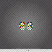 07162 Masi Bicycle Head Badge Stickers - Decals - Transfers