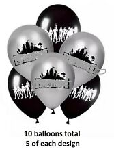"10 x 12"" Fort nite latex balloons fortnight fort night nite  2.8g each"