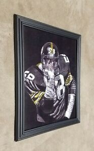 Pittsburgh Steelers Jack Lambert game of inches 8x10 Framed Photo